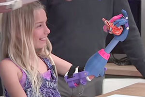 Technologia faith lennox 3d printed arm